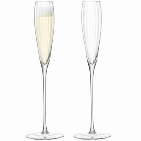 Набор из 2 бокалов-флейт для шампанского Aurelia, 165 мл
