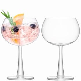 Набор из 2 круглых бокалов Gin, 420 мл