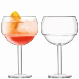 Набор из 2 круглых бокалов для коктейлей Mixologist, 520 мл