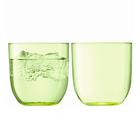 Набор из 2 стаканов Hint, 400 мл, зелёный