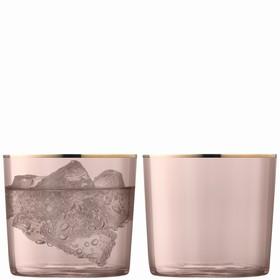 Набор из 2 стаканов Sorbet, 310 мл, коричневый