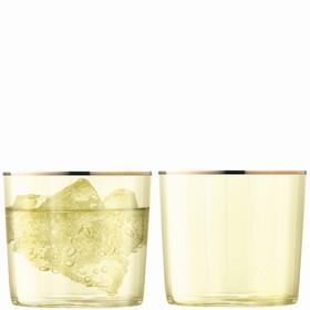Набор из 2 стаканов Sorbet, 310 мл, светло-жёлтый