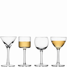 Набор из 4 бокалов для ликёра LuLu, 50-54 мл