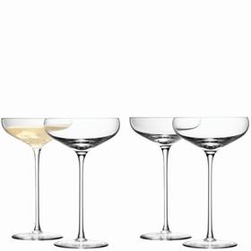 Набор из 4 бокалов-креманок Wine, 300 мл