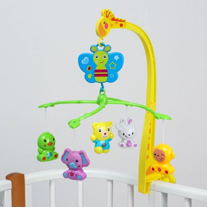 Мобиль музыкальный «Бабочка. Малыш зоо», заводной