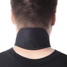 Суппорт шейного позвонка, биомагнитный (1 шт), цвет черный