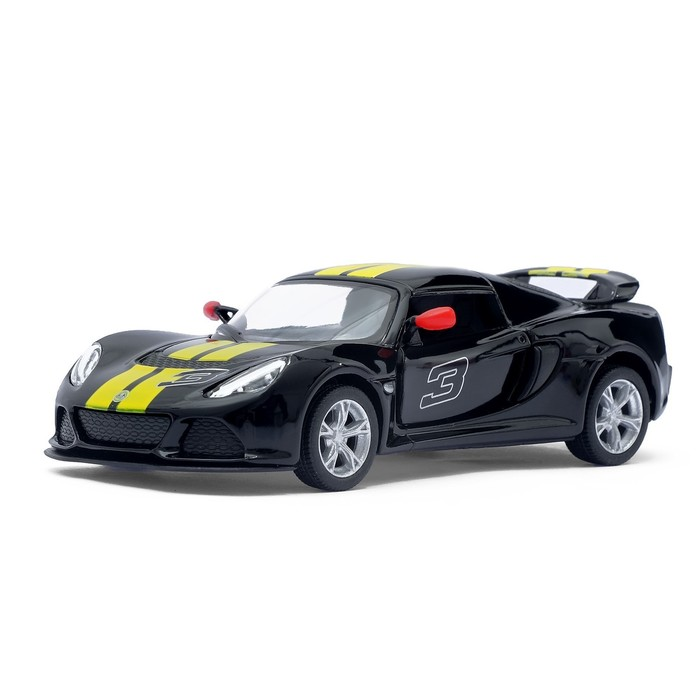 Машина металлическая Lotus Exige S, масштаб 1:32, открываются двери, инерция, МИКС