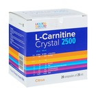Liquid & Liquid L-Carnitine Crystal 2500 Цитрус 20x25 ml