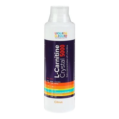 Жиросжигатель Liquid & Liquid L-Carnitine Crystal 5000 Цитрус 500 мл