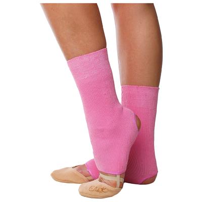 Гетры для танцев (без носка и пятки) №5 (30см), цвет розовый