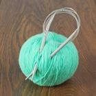 Спицы для вязания, круговые, d=6мм, 100см