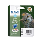 Картридж струйный Epson T0795 C13T07954010 светло-голубой (11.1мл) для Epson P50/PX660
