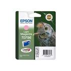 Картридж струйный Epson T0796 C13T07964010 светло-пурпурный (11.1мл) для Epson P50/PX660