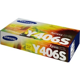 Тонер Картридж Samsung CLT-Y406S SU464A желтый для Samsung CLP-360/365/CLX-3300/3305