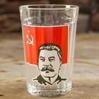 """Стакан граненый """"Портрет Сталина"""""""