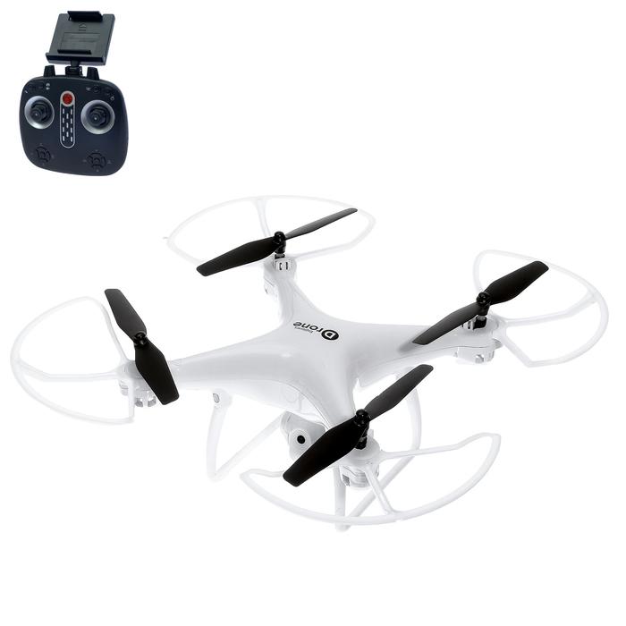 Квадрокоптер DRONE, камера 2,0 Mpx, регулировка камеры, передача изображения, барометр