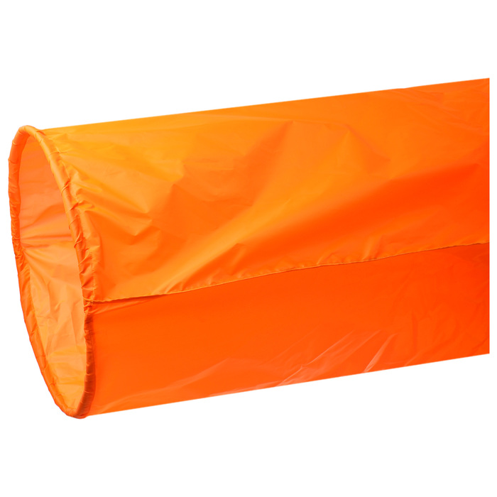 Тоннель для эстафет, длина 335 см, 1 кольцо диаметром 76 см, цвет оранжевый