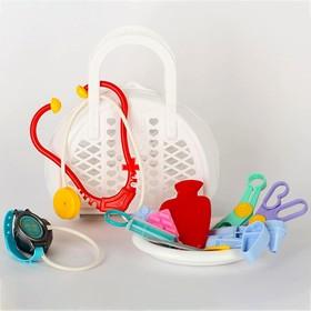 Игровой набор «Доктор №3», 16 предметов, в сумке