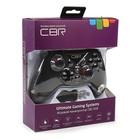 Геймпад беспроводной CBR CBG 958, для PC/PS3/XBOX One/Android, 2 вибро мотора, черный