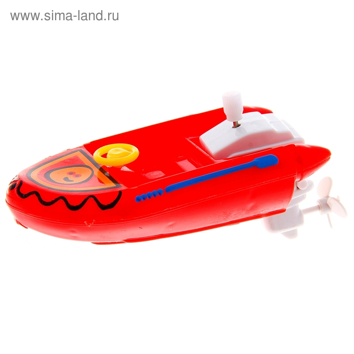 "Игрушка заводная ""Лодка"", цвета МИКС"