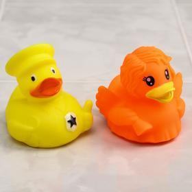 Набор игрушек для ванны «Утки 2», 2 шт.