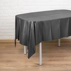 """Скатерть """"Праздничный стол"""", 137*183 см, цвет чёрный"""