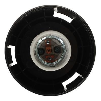 """Светильник ЭЛЕТЕХ """"Цилиндр 2"""" НТУ 06-60-02, опал/корпус черный, 220 В, IP44, опорный"""