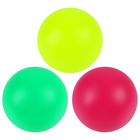 Soft balls for children, badminton, mesh, MIX color