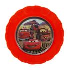 Миска детская «Тачки», 600 мл, с 3D-рисунком