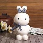 "Piggy Bank ceramic ""Bunny with bows"" MIX 18х10,5x7,5 cm"