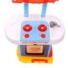 Игровой модуль кухня «Голубая мечта» с аксессуарами, складывается в чемодан, световые и звуковые эффекты - фото 105579257