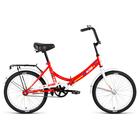 """Велосипед 20"""" Altair City 20, 2018, цвет красный/белый, размер 14"""""""
