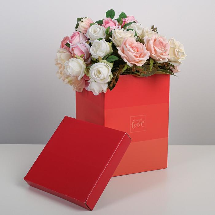 Коробка складная «С любовью», 17 × 25 см