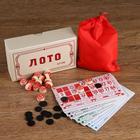 """Лото """"Традиционное"""", карточки 18 × 10 см, в коробке"""