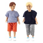 "Кукла для домика ""Два мальчика"""
