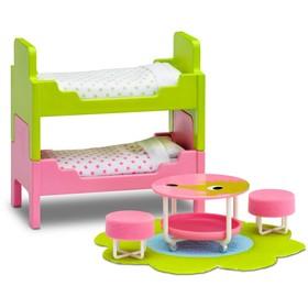 Мебель для кукольного домика Смоланд «Детская», с двумя кроватями