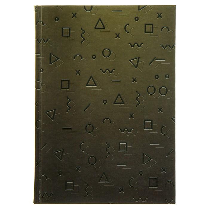 """Колледж-тетрадь А5, 80 листов клетка Calligrata """"Символы"""", твёрдая обложка"""