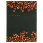 """Колледж-тетрадь А5, 80 листов клетка Calligrata """"Кофейные зерна"""", твёрдая обложка"""