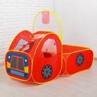 Палатка игровая Автомобиль, сумка на молнии