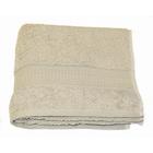 Полотенце, размер 50 × 90 см, серый