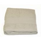 Полотенце, размер 50х90 см, жемчужный, махра 500 г/м2