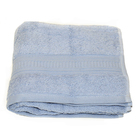 Полотенце, размер 50х90 см, голубой, махра 500 г/м2