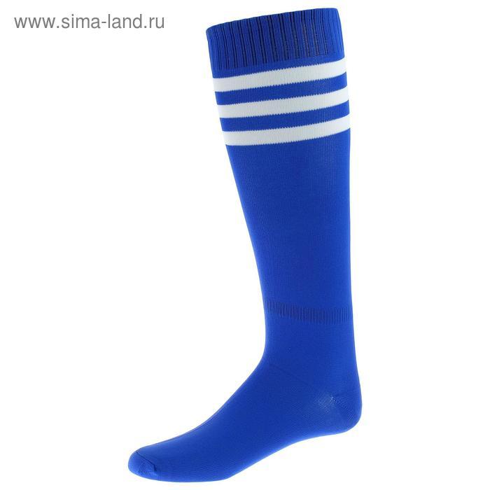 Гетры футбольные синие безразмерные