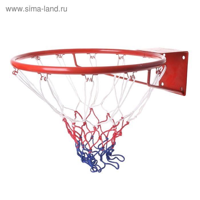 """Сетка баскетбольная """"Триколор2, нить 3мм"""