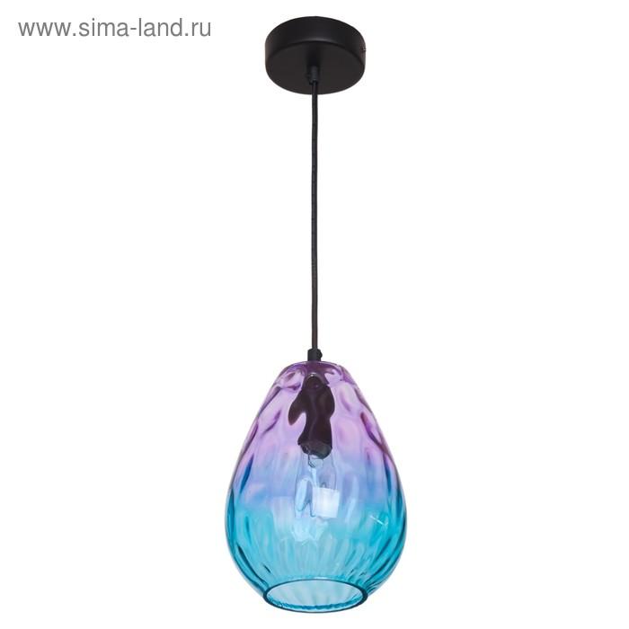 """Светильник  """"Изабелла"""" 1х40Вт E14 розовый-синий 16х16х26-100см."""