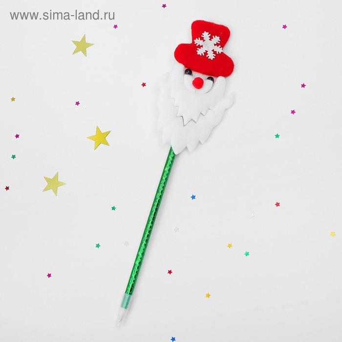 "Ручка ""Дед Мороз"" со снежинкой"