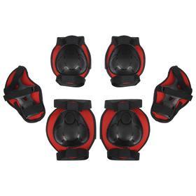 Защита роликовая, размер S, цвет красный
