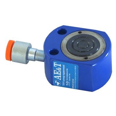 Цилиндр гидравлический AE&T T05010, низкий, 10 т,43 мм, ход штока 11 мм, d=43 мм, NPT1/4