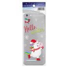 Наклейка для телефона Hello, winter , 7 х 14 см