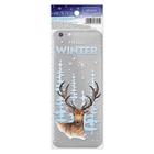 Наклейка для телефона «Привет, зима», 7 х 14 см